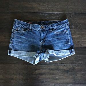 J. Crew jean shorts